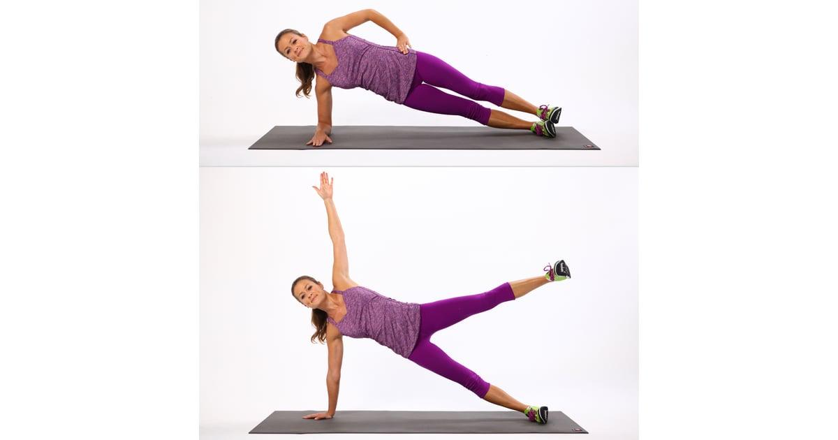 Side Plank Leg Lift Plank Exercises Exercises To Tone