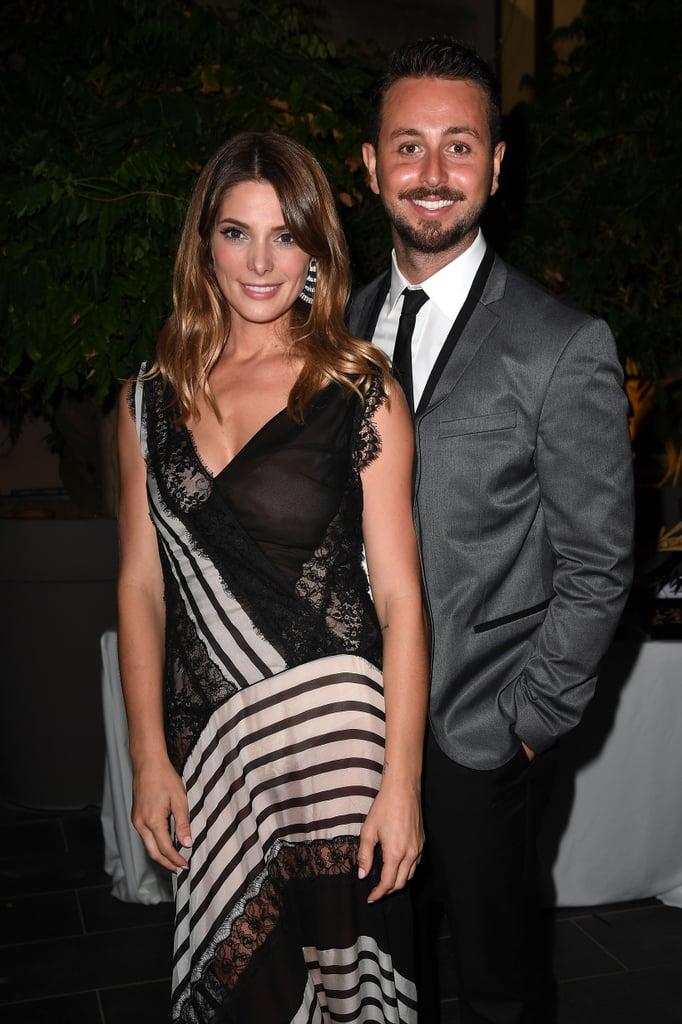 Ashley Greene and Paul Khoury