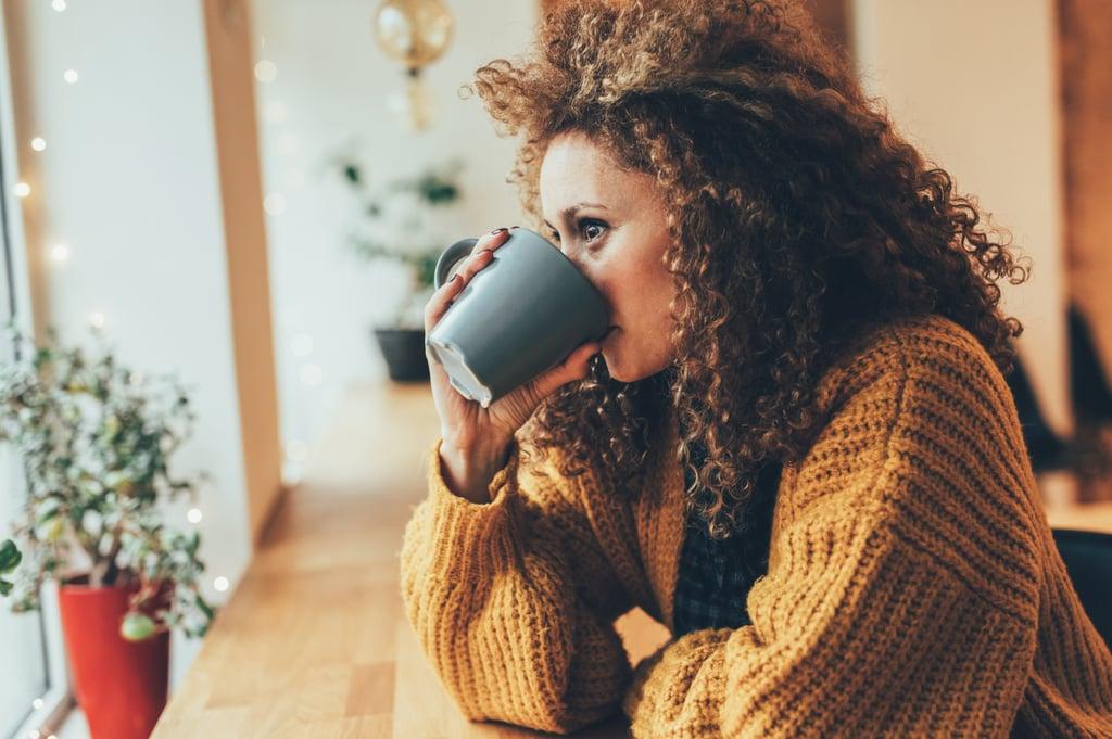 Monday: Drinking Coffee