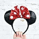 Classic Polka Dot Minnie Mouse Sequin Ears ($17)