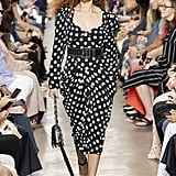 Puffy Sleeves on the Michael Kors Collection Runway at New York Fashion Week