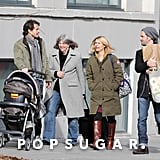 Claire Danes and Hugh Dancy on a Walk With Their Son