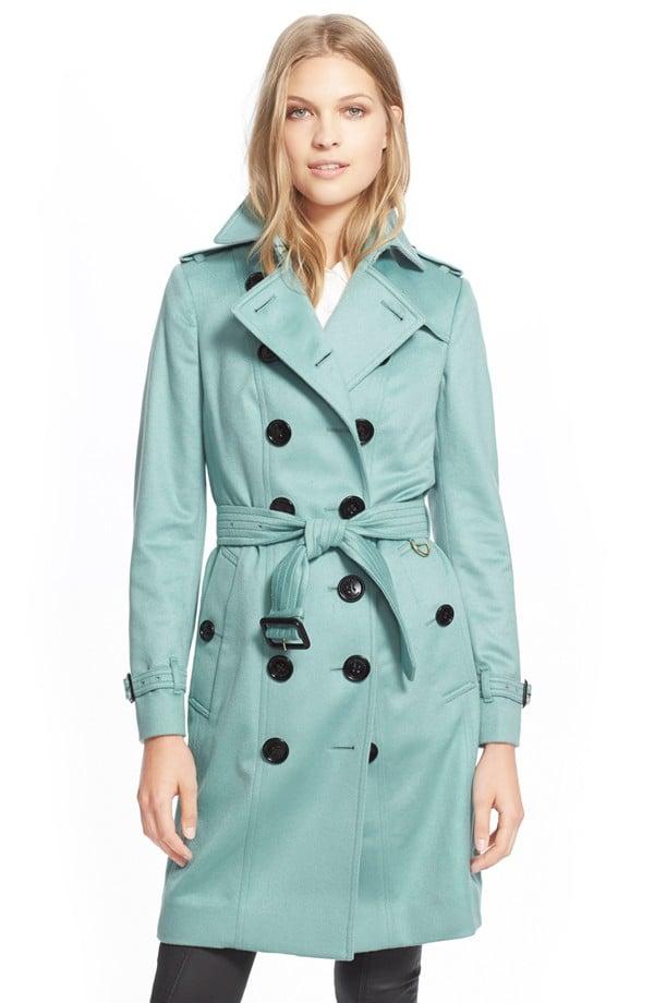 Burberry London Sandringham Cashmere Trench Coat ($2,595)