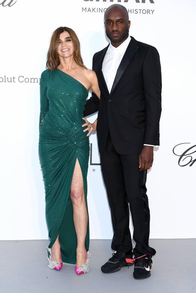 Carine Roitfeld and Virgil Abloh