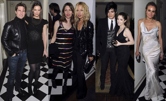 Tom and Katie At NY Times Golden Globes Party at Chateau Marmont