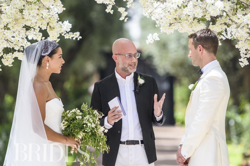 "Hannah and Brandon Said, ""I Do"" in an Outdoor Ceremony at La Mamounia"