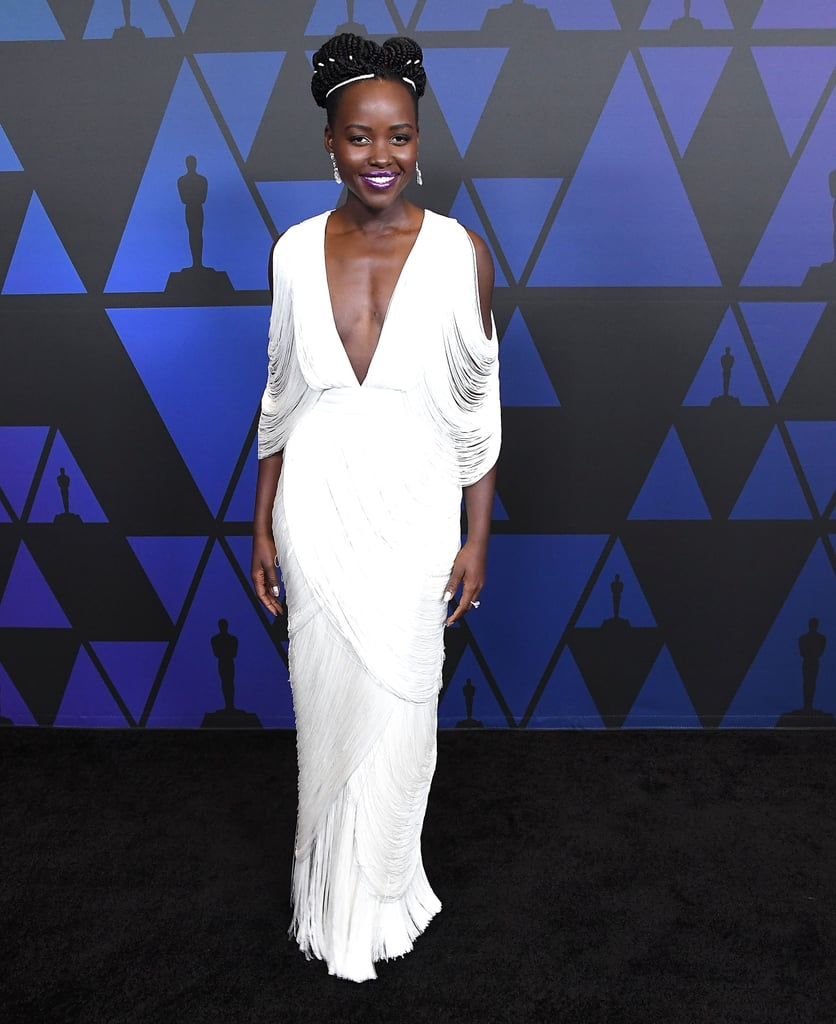 Lupita Nyong'o Tom Ford Dress at Governors Awards 2018