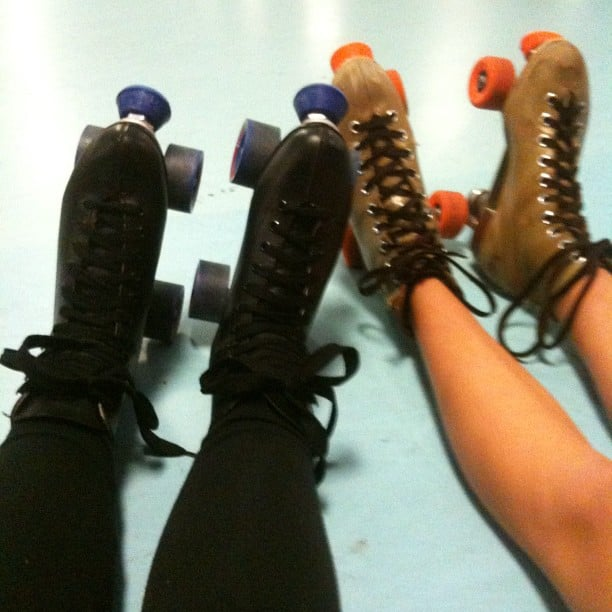 Being Asked to Skate at the Roller Rink