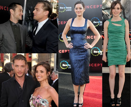 Pictures From Inception LA Premiere Including Kellan Lutz Lighter Hair With AnnaLynne McCord, Leonardo DiCaprio, Tom Hardy