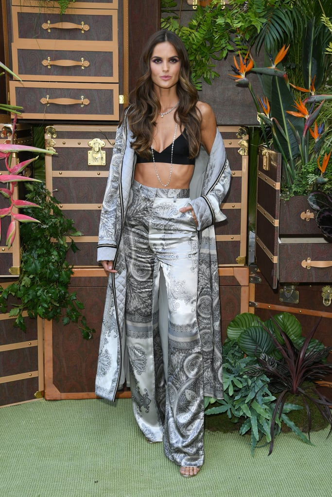 Izabel Goulart at the Etro Milan Fashion Week Show