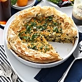 Grits Quiche in Phyllo Crust