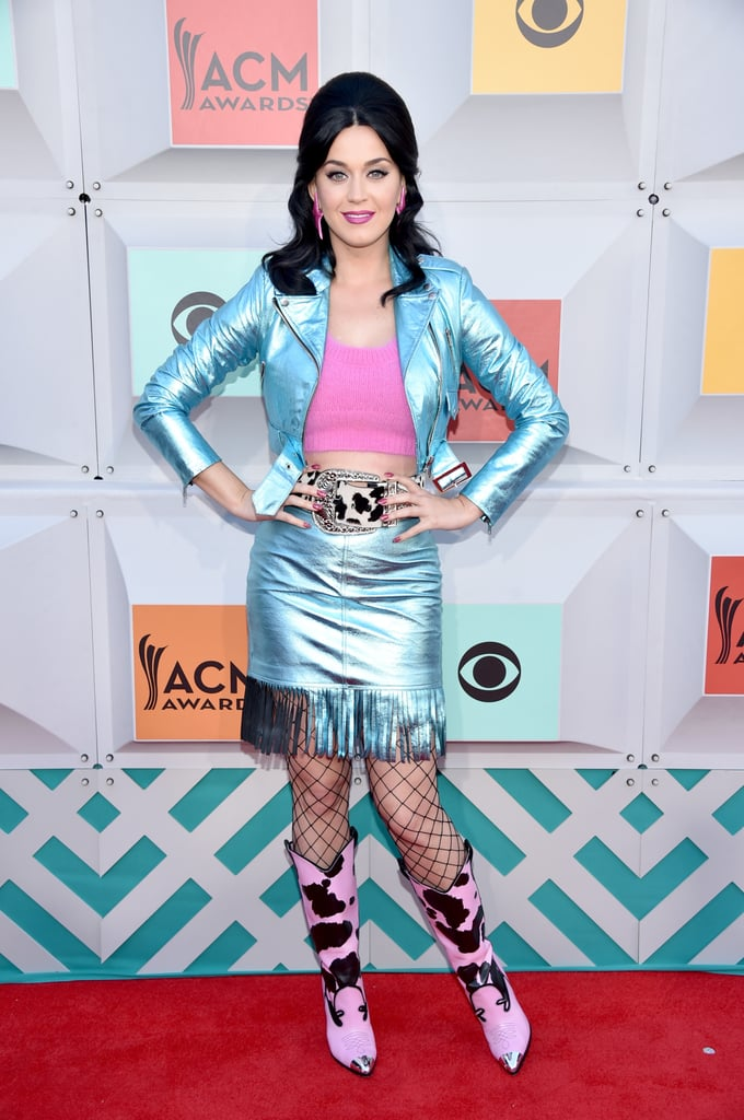 Katy Perry's Jeremy Scott Outfit at ACM Awards 2016