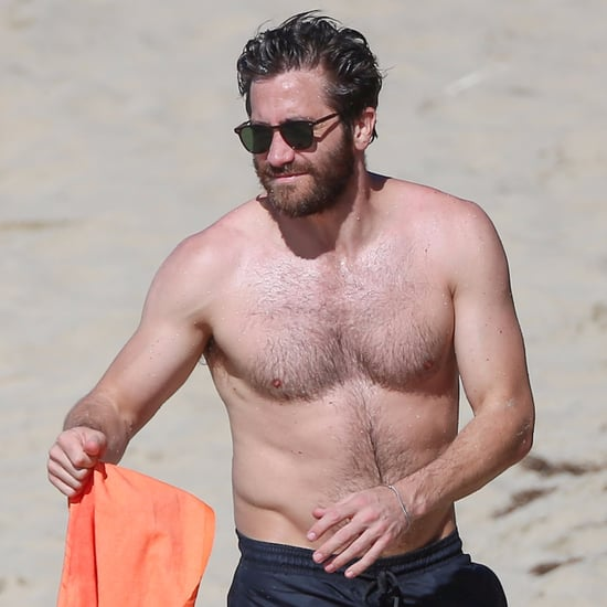 Jake Gyllenhaal Shirtless Pictures in St. Barts January 2017