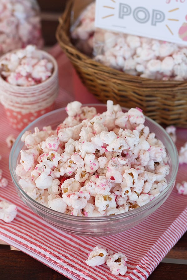 Strawberry Shortcake Popcorn