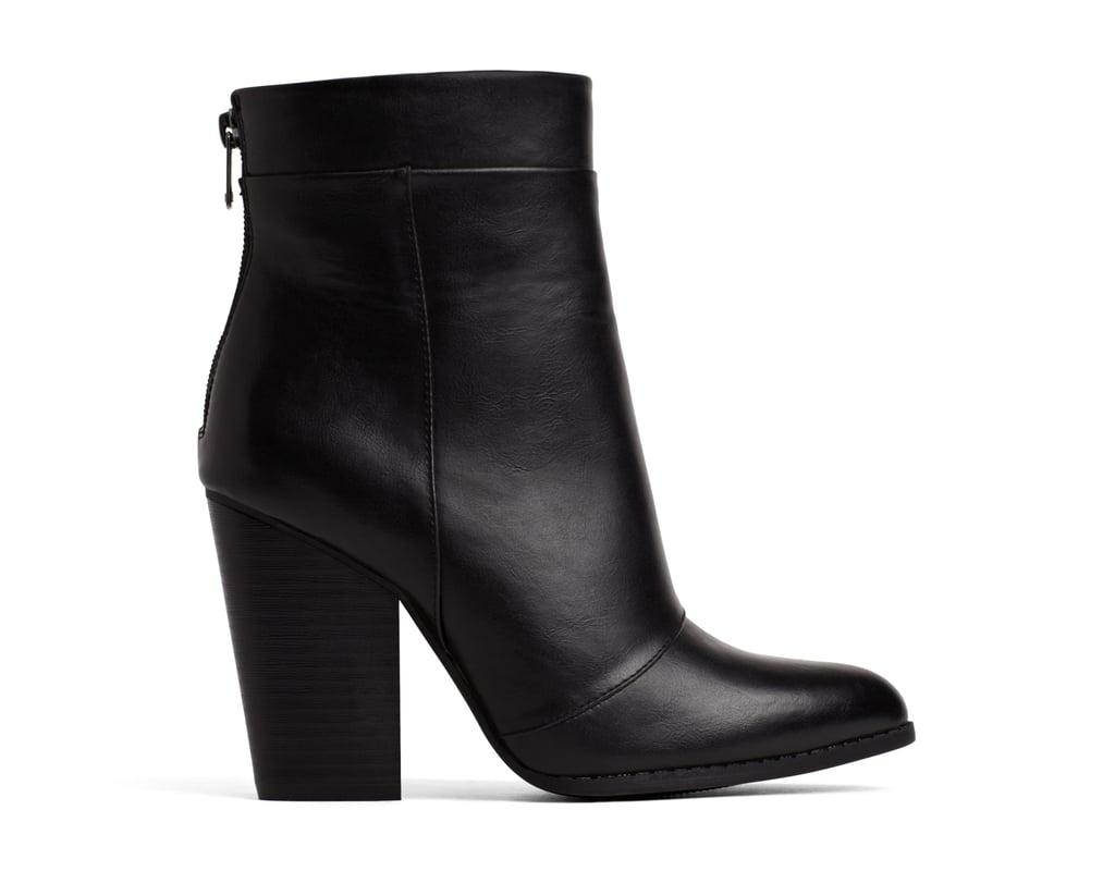A+ Eagan Black Boots ($45)