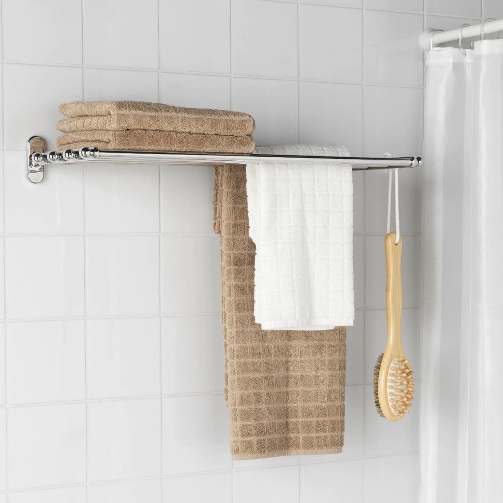 Voxnan Wall Shelf With Towel Rail