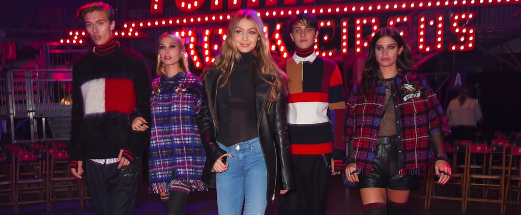 Tommy Hilfiger Show at London Fashion Week Fall 2017