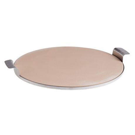 Our Table™  15-Inch Round Pizza Stone With Stainless Steel Tray
