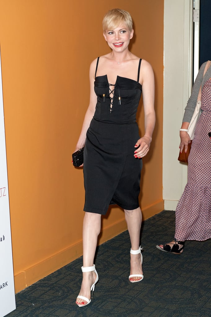 Michelle Williams attended her premiere of Take This Waltz in NYC.