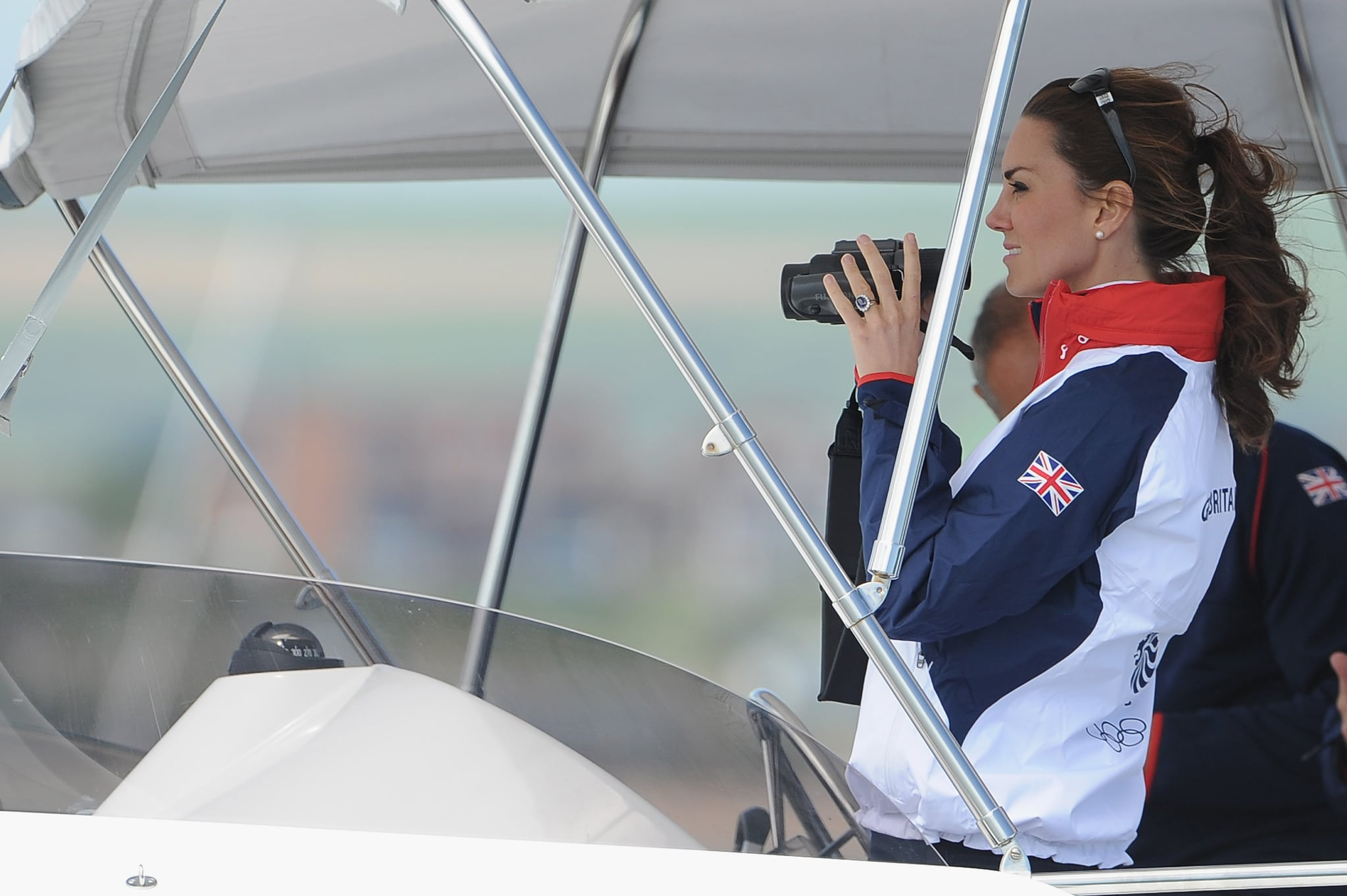 "Kate ""follows race sailing keenly"" and will have a chance to do some herself. According to an official briefing before the trip, Kate Middleton will do some competitive sailing on Friday, April 11. Their private secretary explained:  ""The couple will arrive at the Emirates Team New Zealand base and board a boat that will take them to two of the team's yachts — the Duke on one, the Duchess on the other. There will be a number of 'informal' match races between the two racing yachts. As everyone probably knows, however, the Duke and Duchess are just a little competitive.""  They're spending Easter at the zoo.  The royal family will attend Easter service at St. Andrew's Cathedral in Sydney and then travel to Taronga Zoo. The Australian government made a donation to the zoo's bilby-preservation program on the occasion of George's birth, so we're hoping for an appearance by the little prince.  It's not all business.  There are various days carved out as private time for the young Cambridge family. While there are public events schedule for Easter, for example, Easter Monday (April 21) is a day they'll spend alone. It's also a public holiday in Australia."