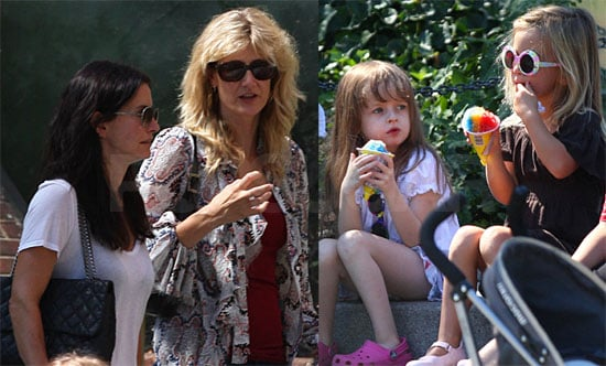 Photos of Courteney Cox, Coco Arquette, Laura Dern, Ellery Harper, Jaya Harper