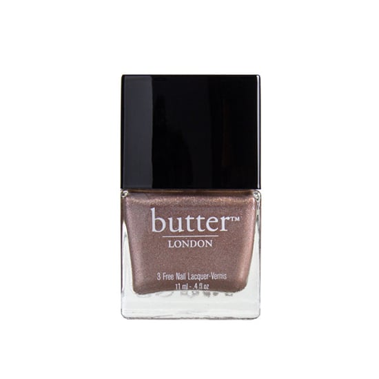 Get your fingertips glowing with Butter London Champers ($15), a metallic rose gold.