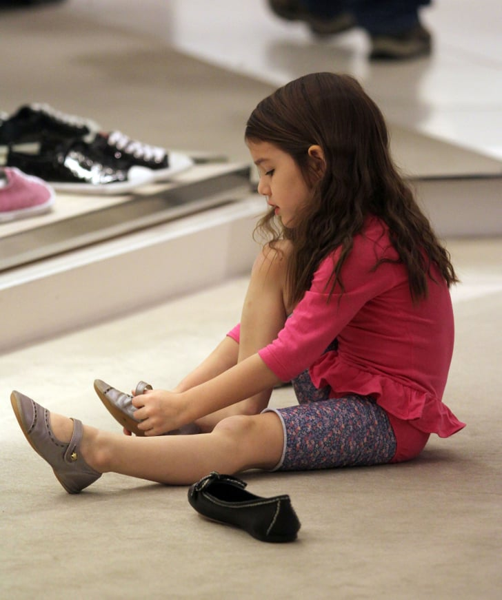 What Is Suri Cruise S Shoe