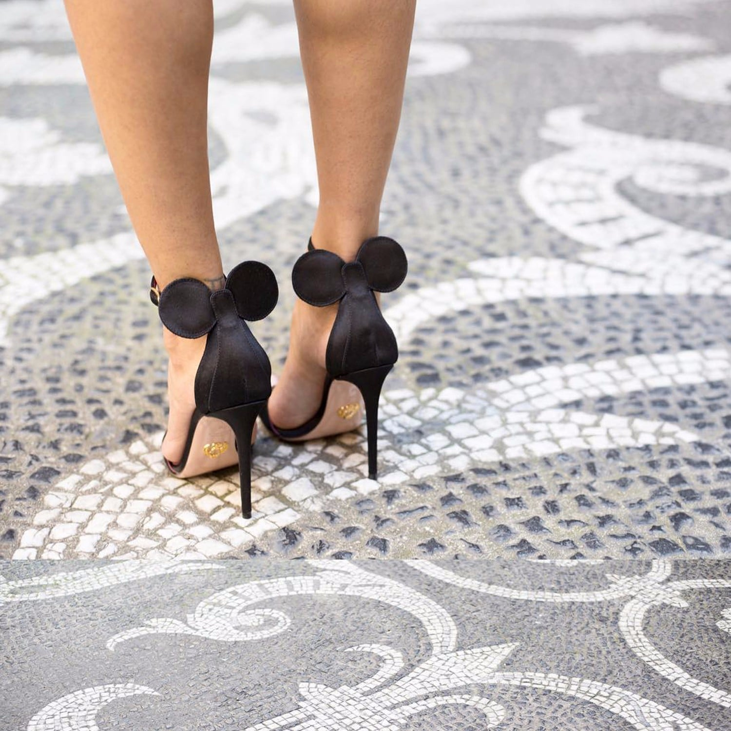 9fcf67c581 Oscar Tiye Minnie Mouse Heels | POPSUGAR Fashion