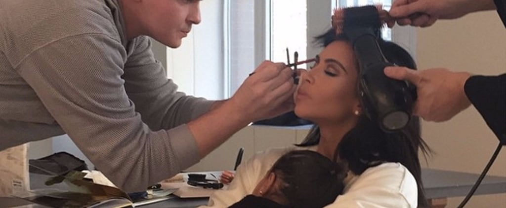 North Is as Mesmerized by Kim Kardashian's Beauty Routine as You Are