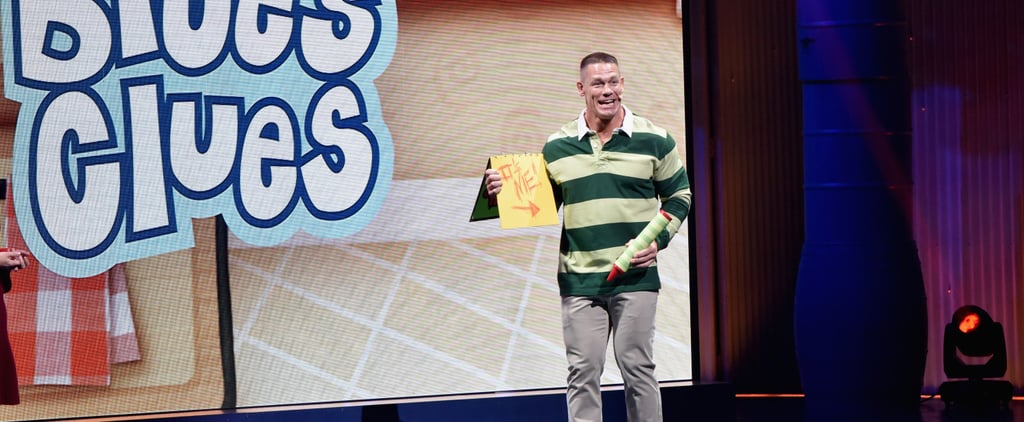 Everyone Who Might Be in the Running to Host the Blue's Clues Reboot, Including John Cena
