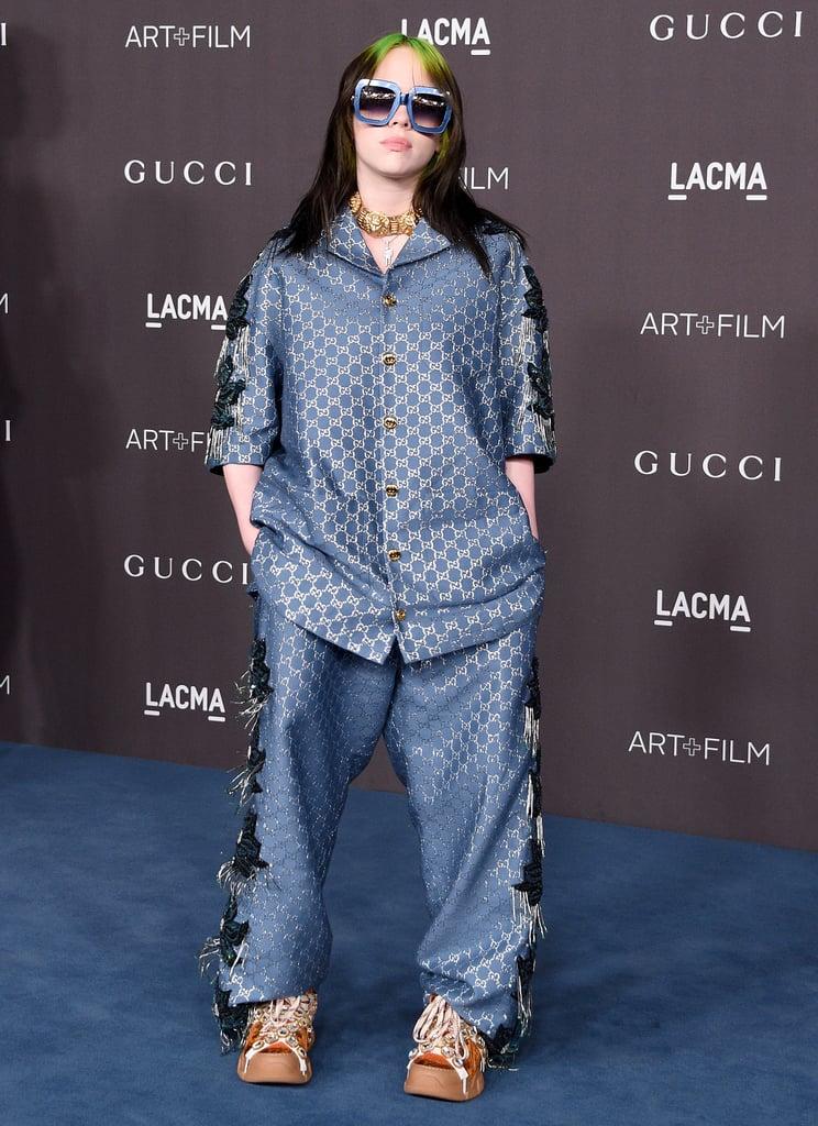 Billie Eilish Wearing Gucci at the 2019 LACMA Art + Film Gala
