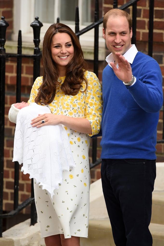 Princess Charlotte, May 2015