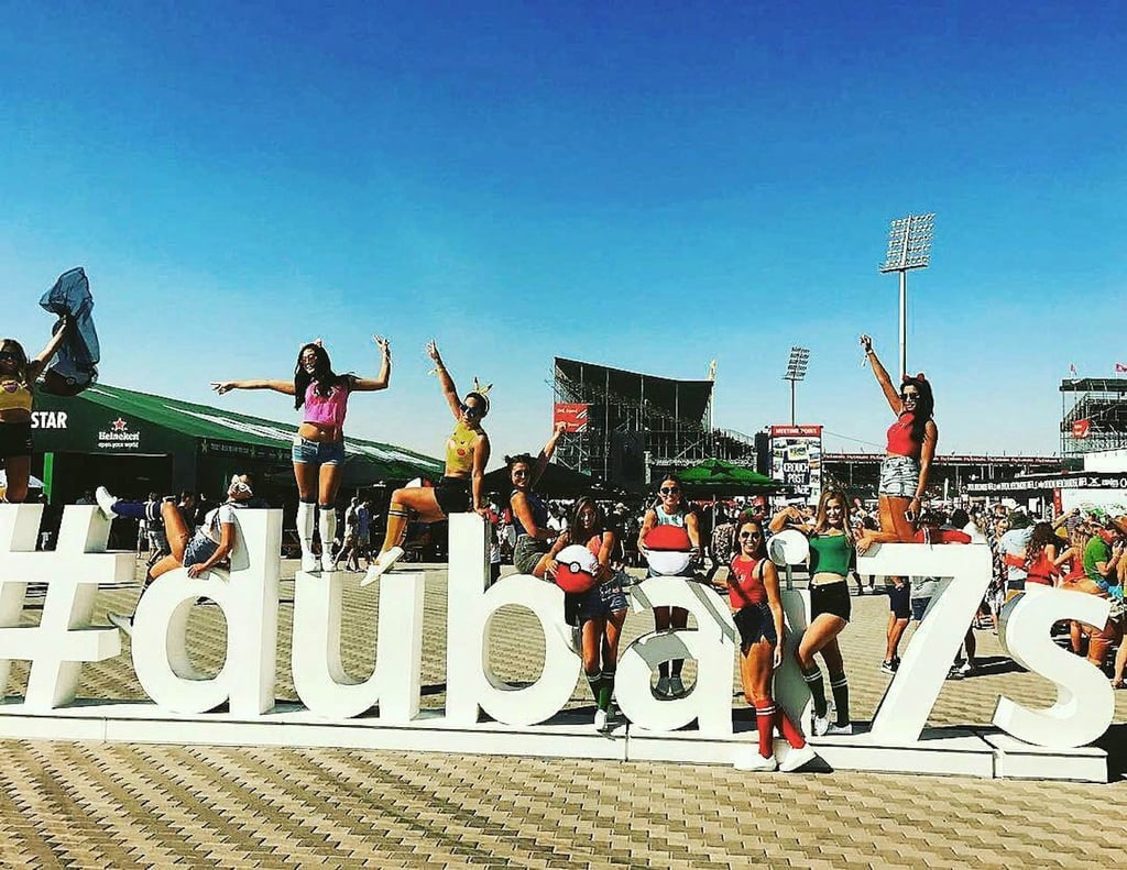 Best Dubai Rugby 7s Costumes 2016
