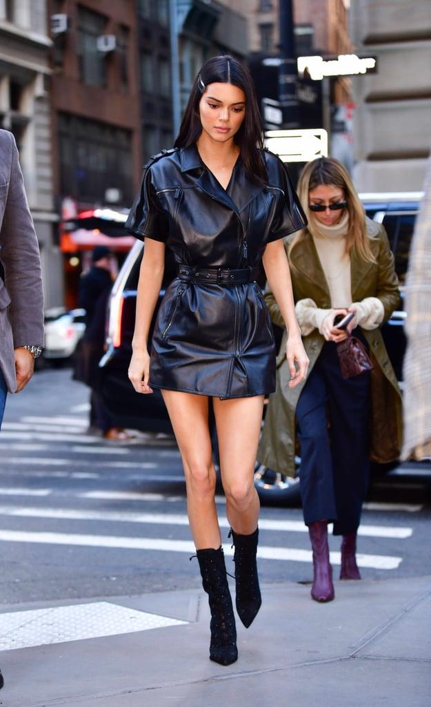 Kendall Jenner At Fashion Week Fall 2019 Popsugar Fashion Uk