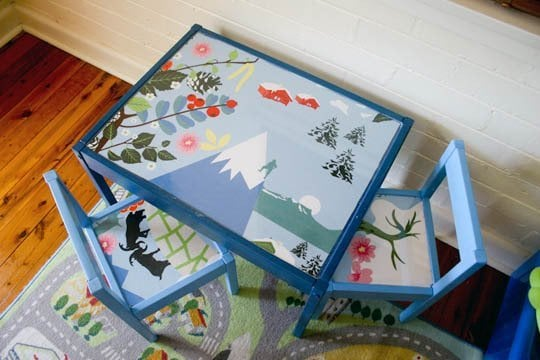 Turn It Into: The Cutest Scandinavian Kiddie Seating Solution
