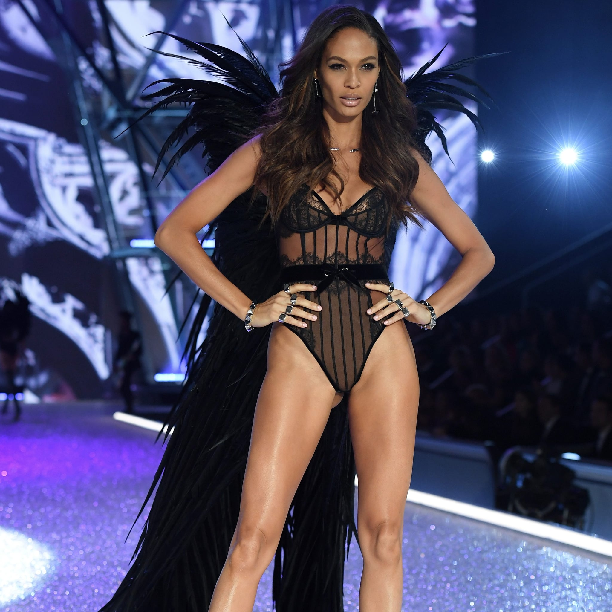 Image result for Joan Smalls in VS wings