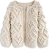 Chicwish Soft Heart Knit Open-Front Sweater
