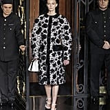 Photos of Louis Vuitton Autumn Winter 2011 at Paris Fashion Week Starring Kate Moss 2011-03-09 04:49:46