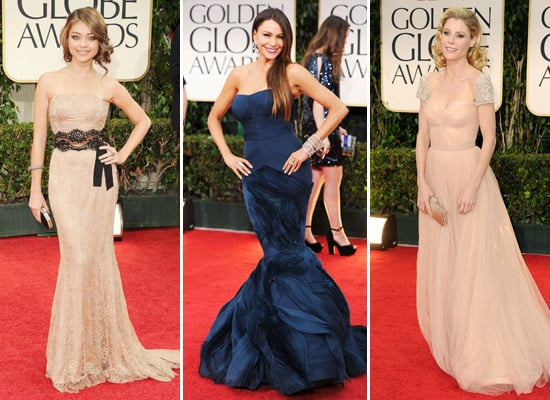 Modern Family Cast Pictures at 2012 Golden Globes: Sofia Vergara, Julie Bowen, Sarah Hyland and More