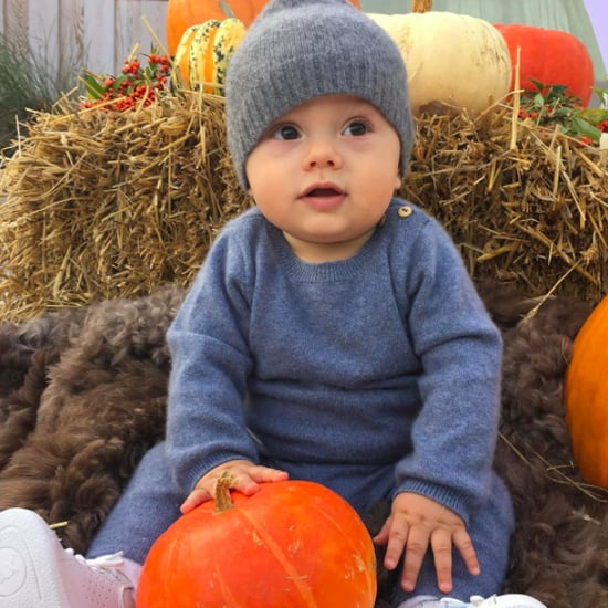 Prince Oscar of Sweden Pumpkin Photo September 2016