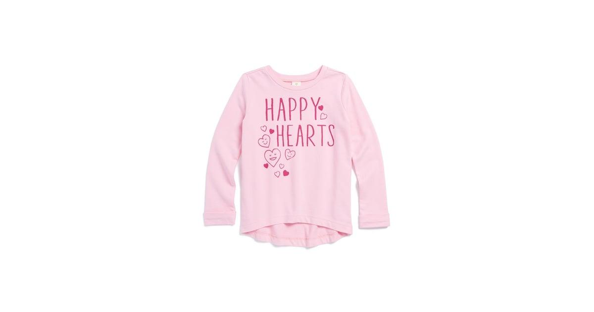 b4b9f0205 Tucker + Tate High-Low Happy Hearts Shirt | Cute Graphic Tees For ...