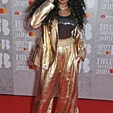H.E.R. at the 2019 Brit Awards