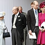 Kate Middleton and Prince William at Eugenie's Wedding