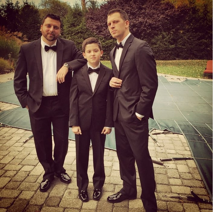 Christopher and Albie Manzo