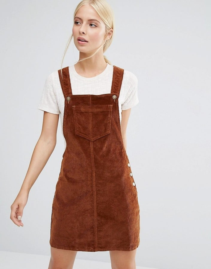 ae5ff2bca69 Brave Soul Cord Pinafore Dress