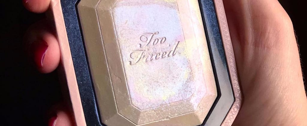 Too Faced's New Diamond Highlighter Is So Damn Shiny, You May Need Sunglasses to Admire It