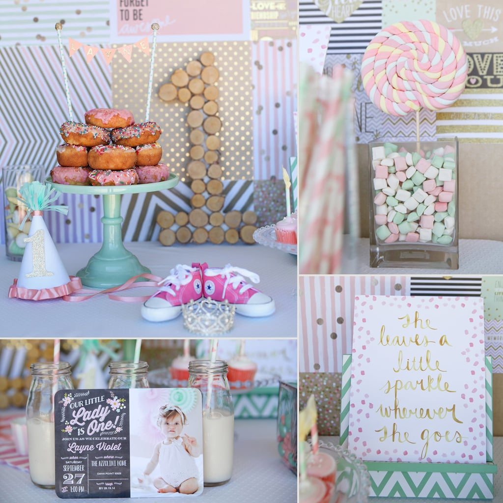 A Sweet Pink Theme For Your Little Girls First Birthday