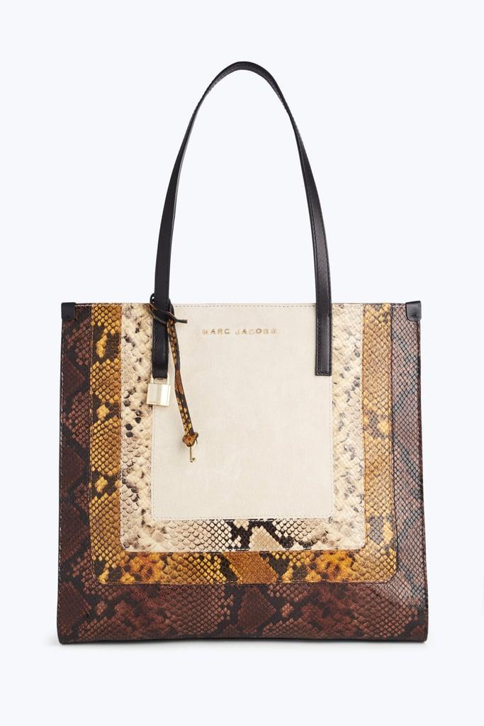 3ecb430dafe0 Mark Jacobs Snake Grind Shopper Tote Bag