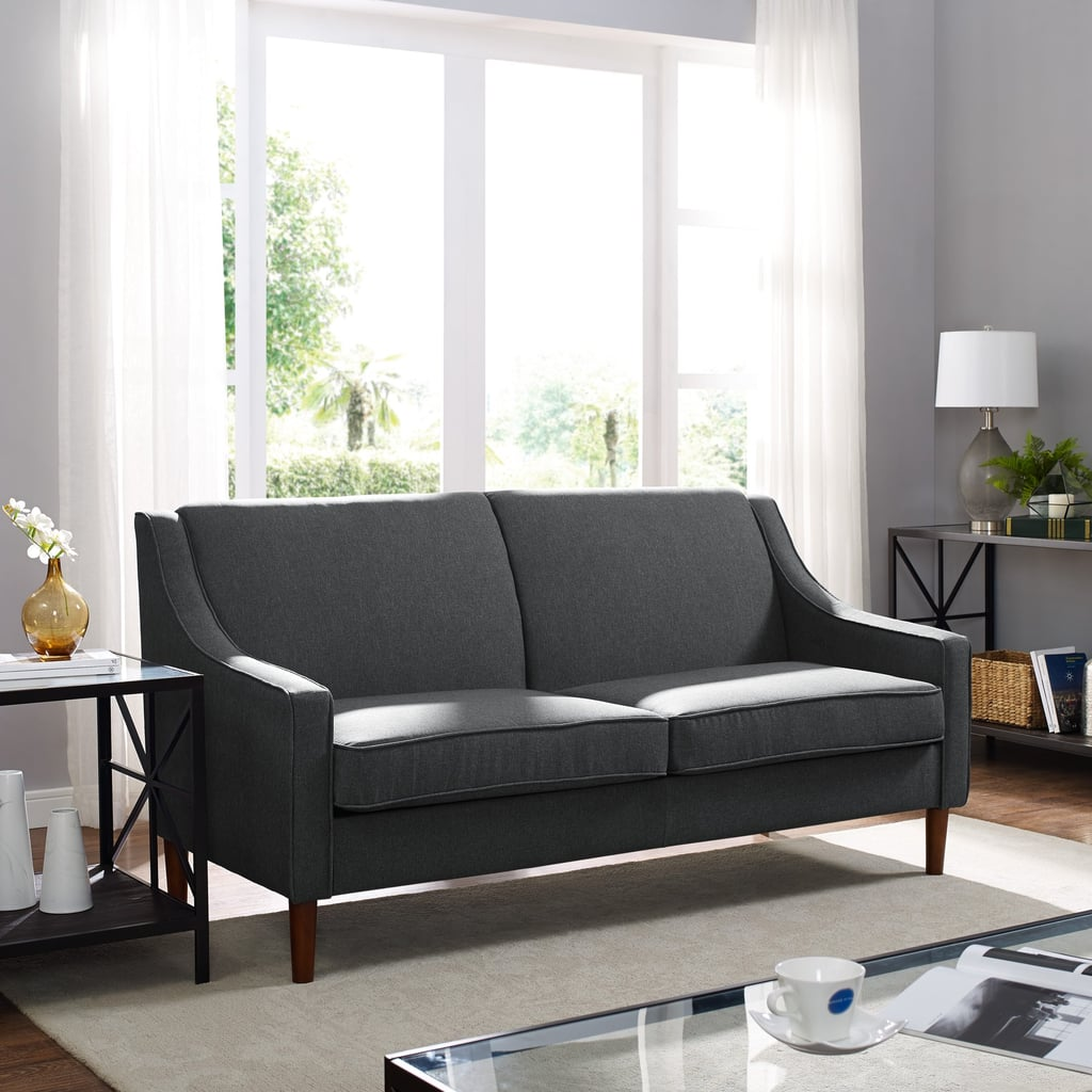 Mid-Century Upholstered Apartment Sofa | Best Cheap Couches ...