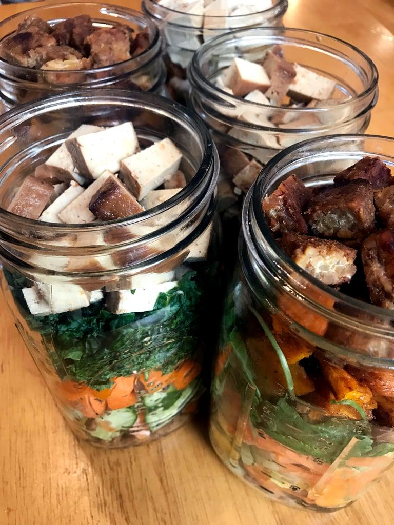 Lunches: Mason Jar Salads
